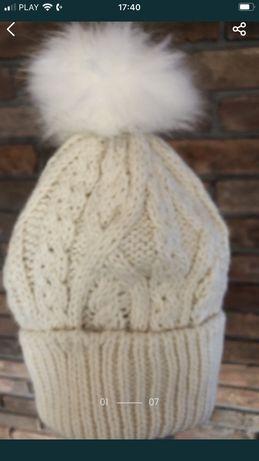 H&m czapka zimowa roz 134/140/146/152 z polarem