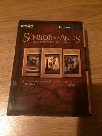 Senhor dos anéis - trilogia dvd