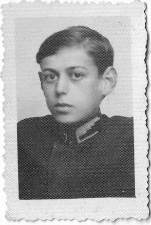 Stare zdjęcie chłopiec 1933