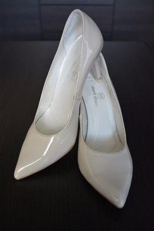 Buty ślubne Mark Shoes r.38 ECRU