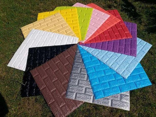 3D панелі 98 кольорів самоклеючі обої 3Д декор пвх самоклейка