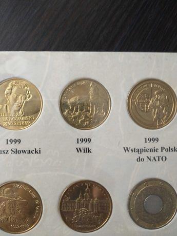 Moneta 2zł Wilk 1999 rok
