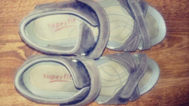 Sandały skórzane Superfit r. 35