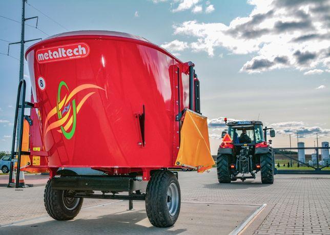 Wóz paszowy paszowóz METAL-TECH WP 6 m3 OKAZJA | Metalfach