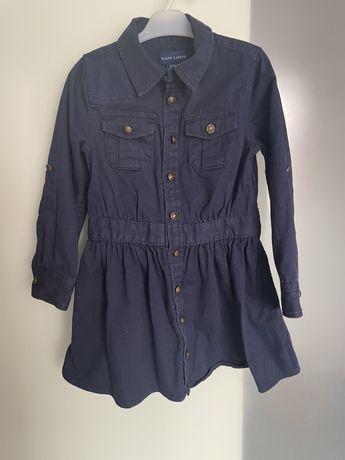 Sukienka szmizjerka Ralph Lauren 98/104