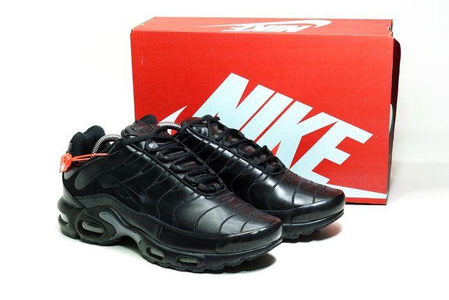 525 Мужские кроссовки Nike TN Plus (41-45) - Черные, Вьетнам, Стильные