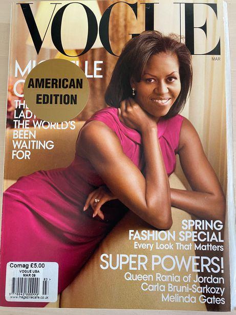 Vintage revistas Vogue Americana