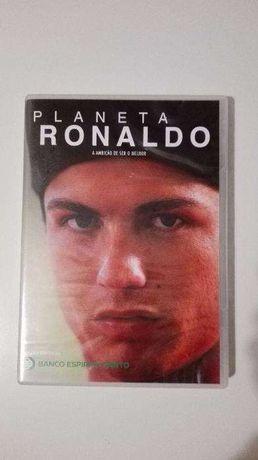 """DVD """" Planeta RONALDO - A Ambição de Ser o Melhor """" - CR7"""