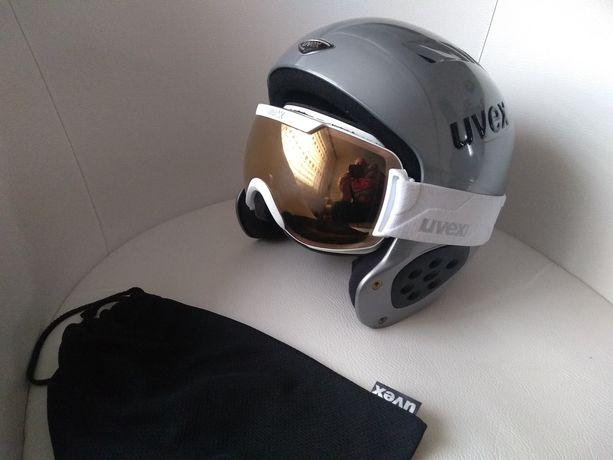Uvex kask + gogle