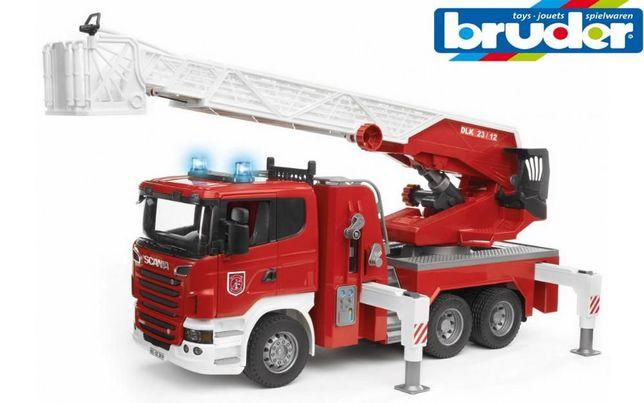 Пожарная Scania Bruder ( Брудер) 03590