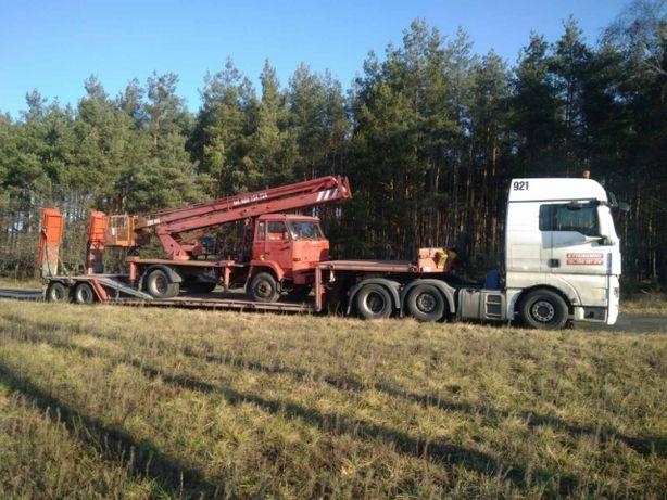 Transport maszyn Leśnych rolniczych Traktor Ciągnik Przyczepa Kombajn