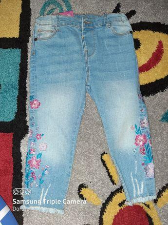 Nowe Spodnie dla dziewczynki 92