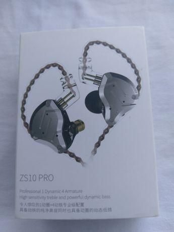 Наушники KZ-ZS10 PRO и беспроводной Bluetooth модуль
