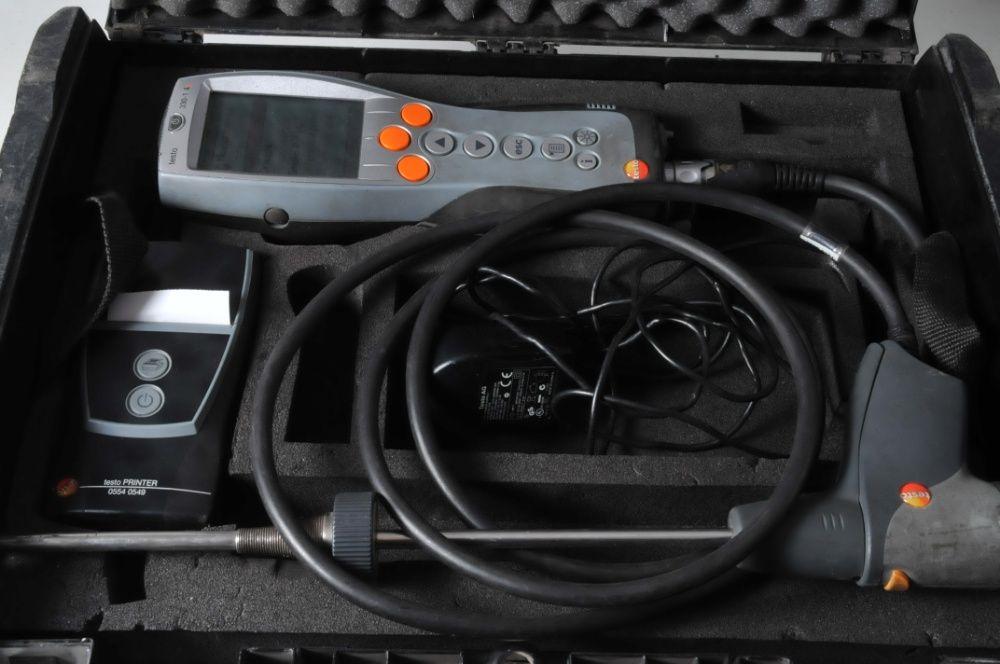 Analizator spalin Testo 330-1 LL stanbdb bogaty zestaw Białystok - image 1