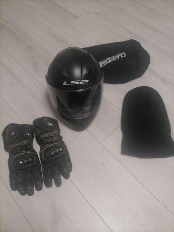 Мото шлём + перчатки в подарок