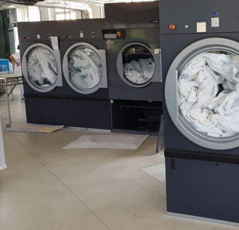 Aluguer de equipamentos lavandaria self service e industrial