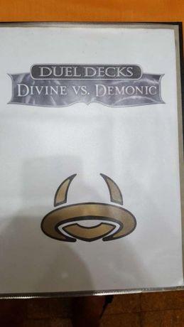 Colecção dual deck: divine vs demonic completa mtg