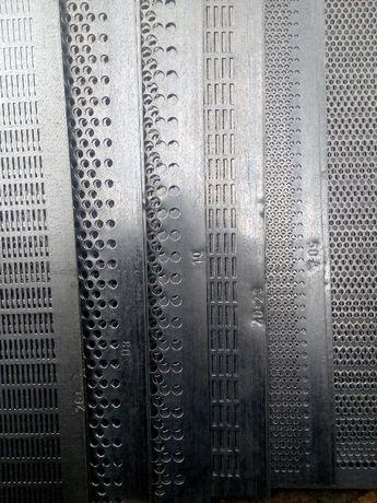 Решета к ОВС,ЗВС,СМ,КЗУ,ЗАВ,БСХ,Петкус \531 зерноочистительные машины