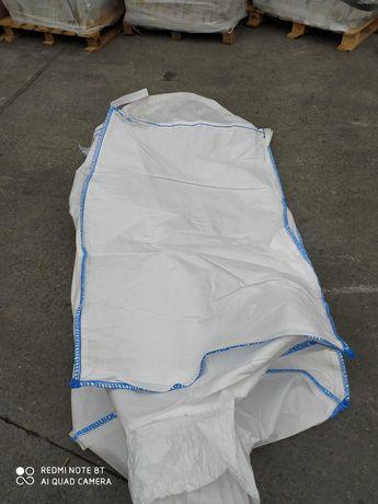 worek big bag 95/95/110 cm używany worek/ do złomu