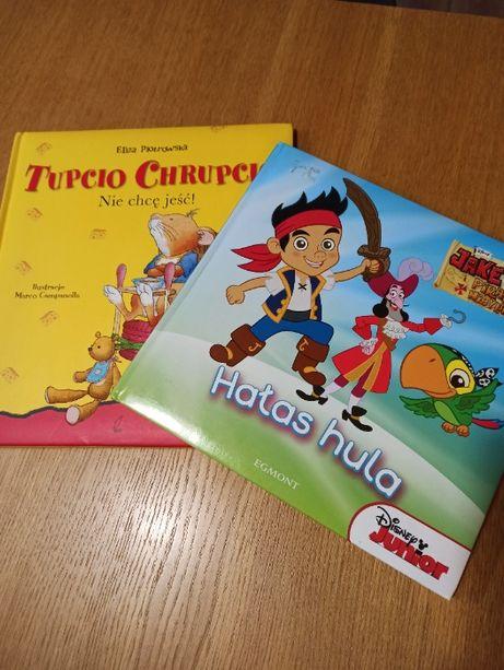 Tupcio chrupcio nie chce jeść i Jake -piraci z Nibylandii książki
