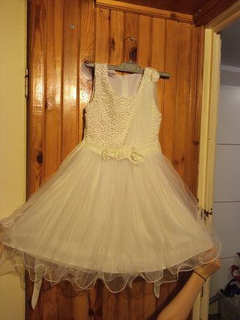 Sukieneczka odświętna dla dziewczynki  134-140