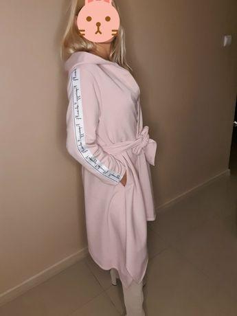 Narzutka z paskiem Paparazzi Fashion Roz. Uniwersalny Jasny róż