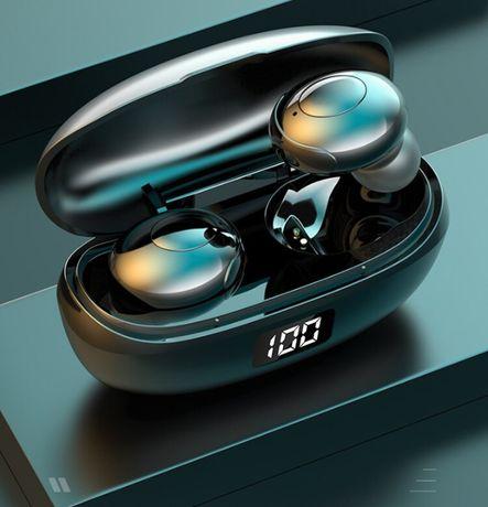 NOWE Bezprzewodowe douszne słuchawki Stereo Bluetooth 5.0 wodoodporne