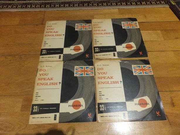Płyty winylowe 10'' B. i R. Retman DO YOU SPEAK ENGLISH zestaw 4 płyty