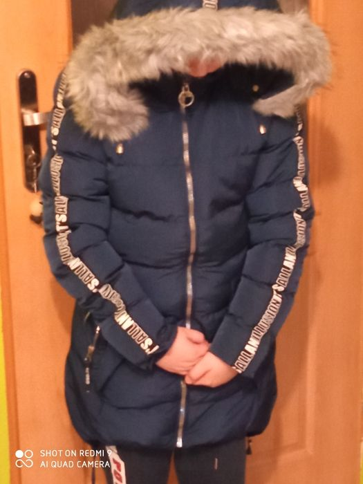 Długa kurtka damska Bralin - image 1