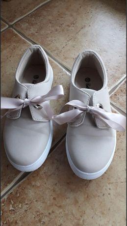 Śliczne buty dla dziewczynki r.36 stan idealny