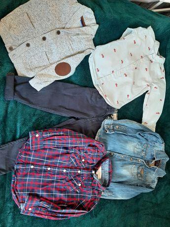 Zestaw eleganckich ubranek dla chłopca 98/104H&M i Zara