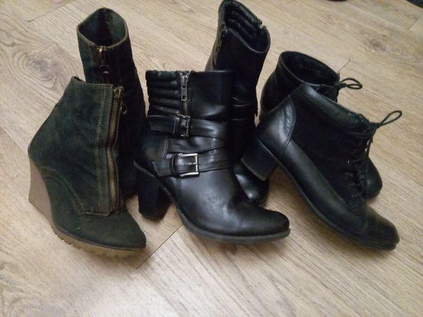 Обувь 3пары за 50