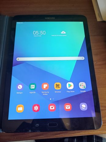 Samsung Galaxy tab S3 com S pen e capa com teclado