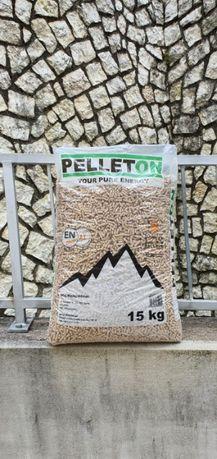PELLETON | Pellet Drzewny Sosnowy | 6 mm | EN plus A1