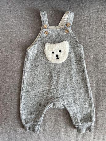 Комбинезон штаны для малышей для 2-4 мес рост 62 HM
