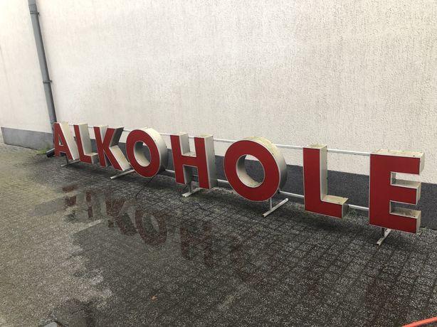 Logo 3D litery reklamowe ALKOHOLE