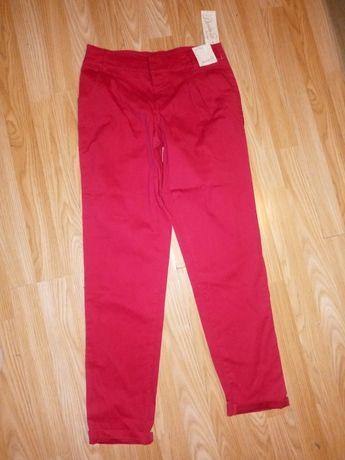 Nowe spodnie malina