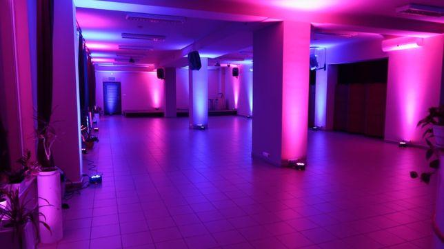 Ozdabianie sali światłem Dekoracja Sali weselnej Lampy LED Radom