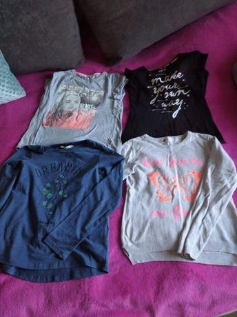Ubrania dla dziewczynki 134/140