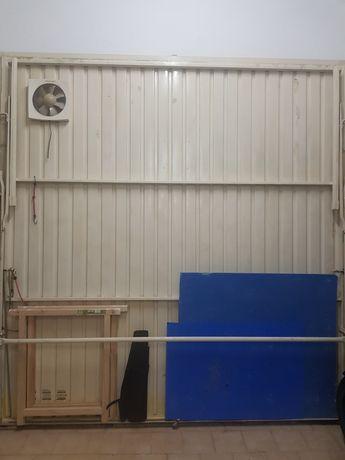 Portão manual garagem