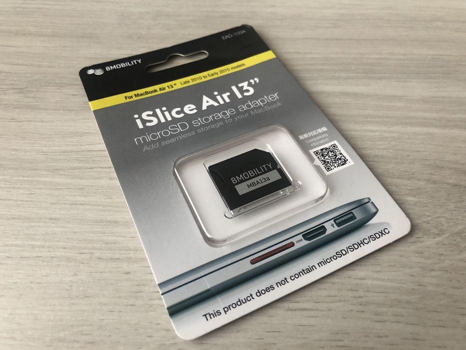 Картридер iSlice от 8MOBIITY для расширения памяти MacBook Air 13 Винница - изображение 1