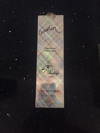 Perfume eau de parfum Question Feeling novo