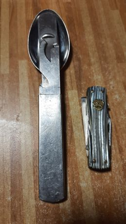 Столовый набор BUND, нож ссср