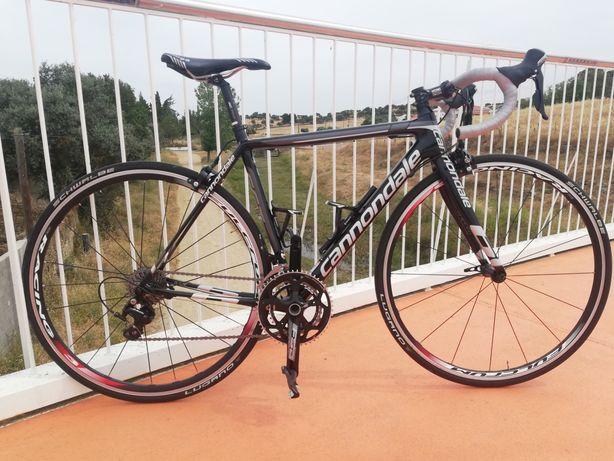 Bicicleta de estrada,Cannondale super six evo (carbono)