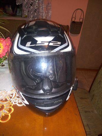 Sprzedam kask motocyklowy LS2 ROOKIE wraz z interkomem