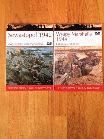 Nowe książki z DVD z serii Wielkie II wojny światowej.
