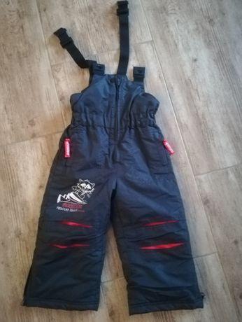 Spodnie zimowe narciarskie quadri foglio