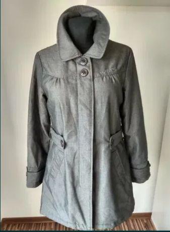 Płaszcz zimowy damski na zimę elegancki kurtka zimowa Rip Curl M 40 42