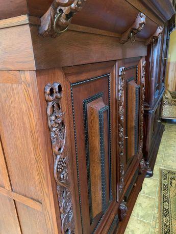 Szafa bieliźniarka rzeźbiona antyk komoda chesterfield indyjska drewno
