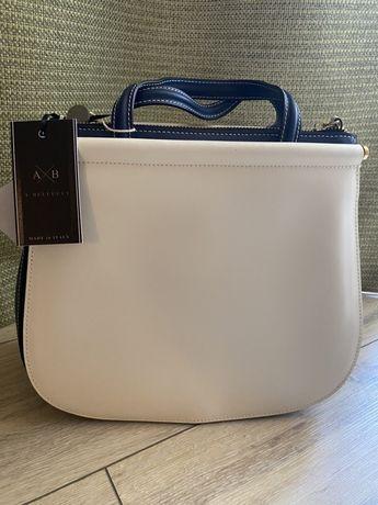 Продам новую итальянскую кожаную сумку